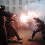 Сутички на Банковій, 1 грудня 2013 року. /Зураб Джавахадзе/