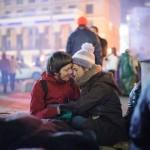 За годину до кривавого побиття студентів на Майдані, 30 листопада 2013 року /Олександр Пілюгін/