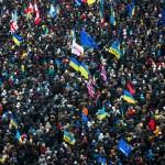 Сотні тисяч людей прийшли на всеукраїнське віче 8 грудня 2013 року /Віталій Раскалов/