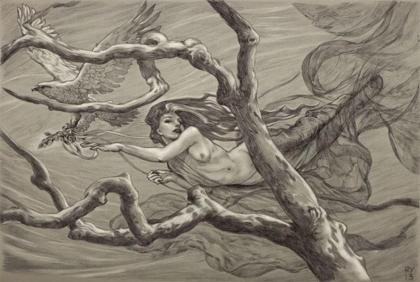 """Một số tác phẩm tranh phụ nữ khỏa thân trong bộ sưu tập """"Nghệ thuật cao siêu"""""""