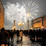 Italy New Year Venice High Water