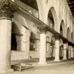 Jerusalem. Mosquee el-Aksa, interieur