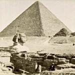 Pyramide de Cheops le Sphinx et le temple de Chefre