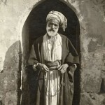 Sheik of a peasant village, Palestine