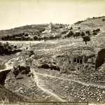 The valley of tombs of Jehoshaphat