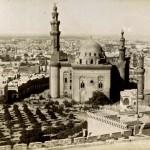 Vue du Caire et mosque Sultan Hassan