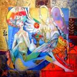 Didier Delamonica - French Mystical Fantasy painter - Tutt'Art@  (13)