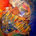 Didier Delamonica - French Mystical Fantasy painter - Tutt'Art@  (33)